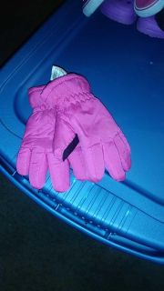 Thick gloves kid size