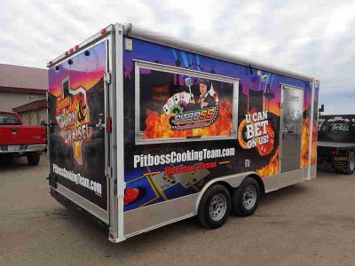 2016 Freedom Trailers Concession - Catering - Grilling