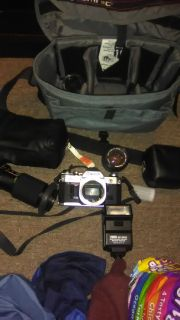 Ae1 vintage canon camera