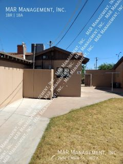 Renovated 1 Bed 1 Bath Apartment For Rent In Beautiful Gated Mobile Home Park! TR-APT A