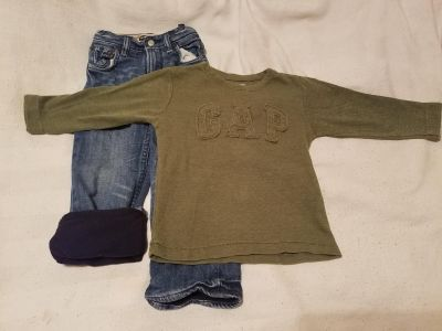 Gap Kids winter outfit