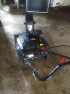 Gas snowblower/willing to trade for running riding mower
