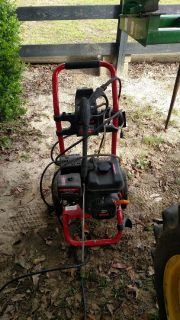 Master Craft pressure washer 2700psi 180cc engine