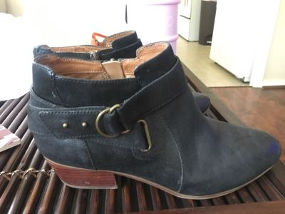 Clark s Heeled Ankle Boots