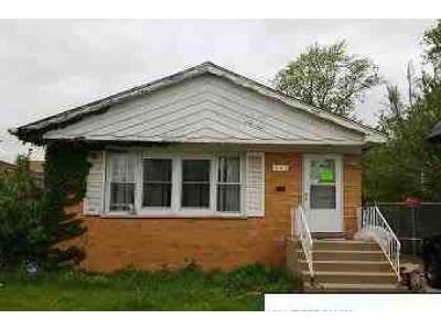 3 Bed 1 Bath Foreclosure Property in Chicago Heights, IL 60411 - W 16th Pl