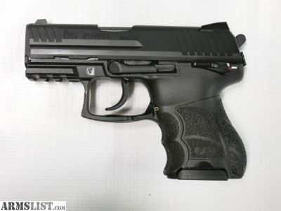 For Sale: HK P30SK V3 9MM SUBCOMPACT