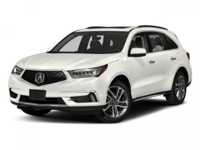 2018 Acura MDX w/Advance Pkg (White Diamond Pearl)