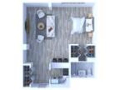 Maple Grove Apartments - Studio Floor Plan S1
