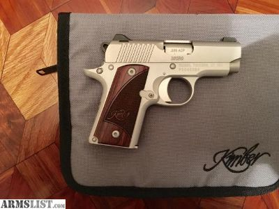 For Sale: Kimber Micro 380 Stainless