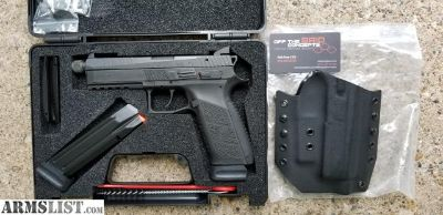 For Sale/Trade: CZ P-09 Threaded /Suppressor Sights with Holster