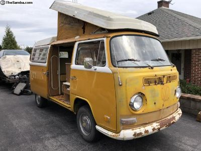 Solid 72 camper ready to go!
