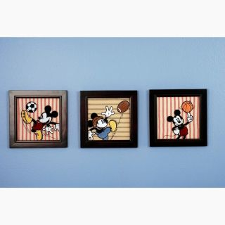 Disney Baby Vintage Mickey Mouse Wall Art