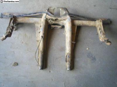 Ghia rear trans cradle/frame horns