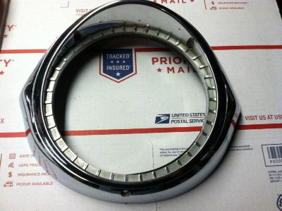 Sell 1957 Buick Headlight Trim Rings Original minor pits motorcycle in Fort Belvoir, Virginia, US, for US $175.00
