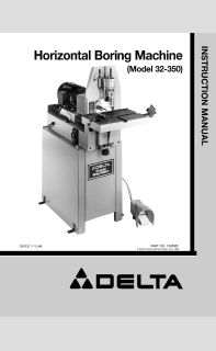 Horizontal Boring Machine Delta