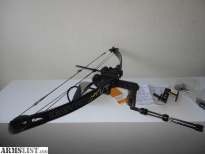 For Sale/Trade: Darton Stinger I/T Arm Mounted Slingshot Compound Bow Package