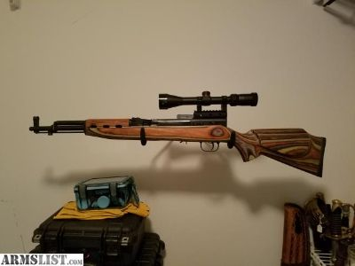For Sale/Trade: Chinese SKS Exceptional Stock & Scoped