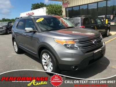 2014 Ford Explorer Limited (Sterling Gray Metallic)