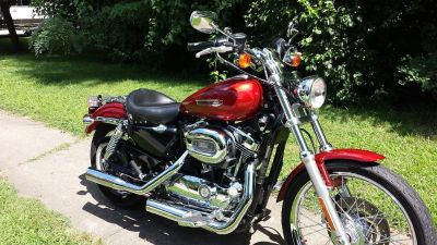 Harley Davidson 1200 XLC Sportster 2008 - Awesome clean bike.