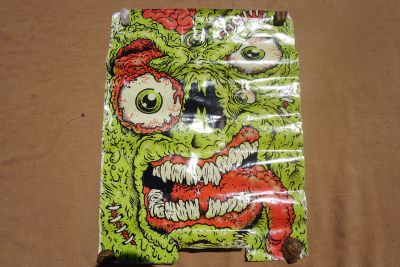 Stitched Zombie monster poster