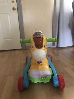 Vtech riding horse with two positions.