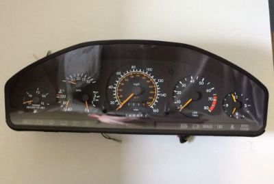 Purchase 1992 1993 Mercedes Benz 500SEL 1405408847 Instrument Cluster Gauges speedometer motorcycle in San Diego, California, United States, for US $110.00