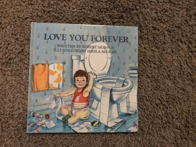 Hardcover love you forever book like new