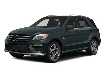 2014 Mercedes-Benz M-Class ML63 AMG (Black)