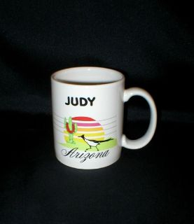 "Arizona Mug - ""JUDY"" - Ceramic - Made in USA"