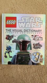LN Lego Star Wars Visiual Dictionary with Minifigure $10