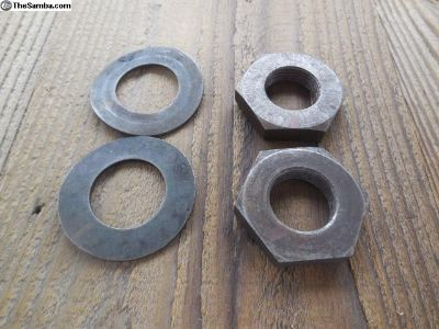 Porsche 911 Camshaft Washers and Nuts C # 107