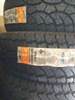 31x10.50r15 summit tires new