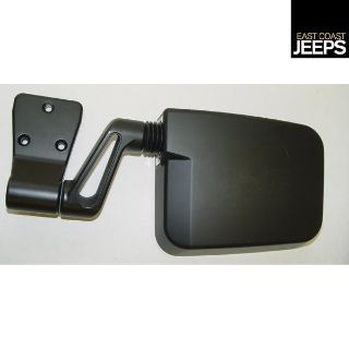 Buy 11002.05 RUGGED RIDGE Door Mirror, Black, Left Side, 87-02 Jeep Wranglers, by motorcycle in Smyrna, Georgia, US, for US $46.18
