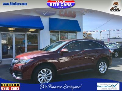 2016 Acura RDX AWD 4dr AcuraWatch Plus Pkg (Basque Red Pearl II)