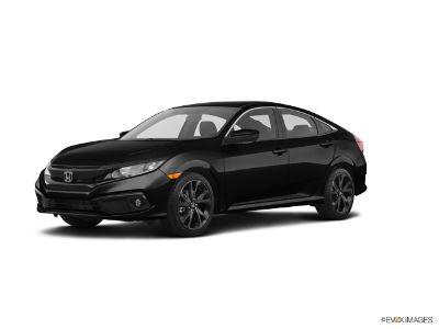 2019 Honda Civic 2.0 L4 SPORT CVT (Crystal Black Pearl)
