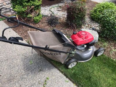 Honda lawnmower - free
