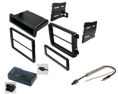 Sell VW CAR STEREO RADIO KIT DASH INSTALLATION MOUNTING TRIM BEZEL WIRING HARNESS motorcycle in Oliver Springs, Tennessee, US, for US $79.94