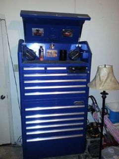 kobalt toolbox with pioneer stereo