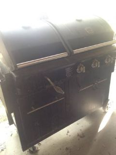 Kenmore Combo Gas and Charcoal Grill w/Cover, Tank and Rotisserie