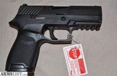For Sale: NIB SIG SAUER P320C 9MM 3.9