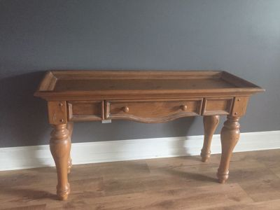 Sofa Table - Solid Pine by Broyhill