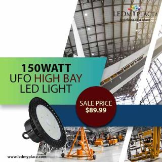 Install UFO High Bay LED Lights, If Overhead Lighting Is Your Need!