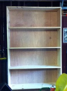 Large Wooden Bookshelf