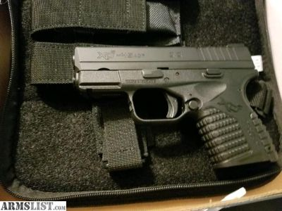 For Sale: Springfield XDs 45 w laser
