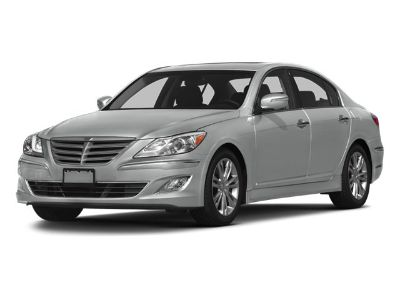 2013 Hyundai Genesis 3.8L V6 (Pearl Whie)