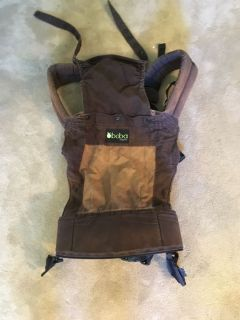 Boba organic two toned brown infant carrier