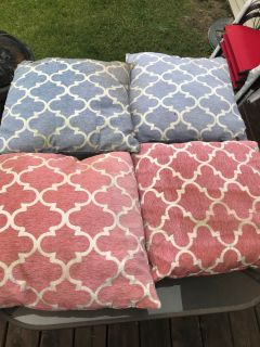 Patio chair pillows