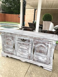 Solid Wood Buffet/ Entryway Cabinet