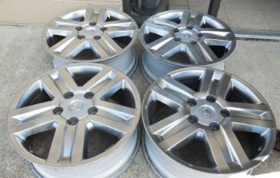 "Find 20"" 2008 09 10 11 12 13 14 15 Toyota Sequoia Tundra Hyper Silver Wheels Rims motorcycle in Virginia Beach, Virginia, United States, for US $550.00"