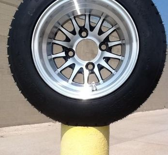 Find Golf Cart Wheel And Tire Combo STI Brand Fits Club Car E-Z-GO Carts motorcycle in Evansville, Indiana, US, for US $260.00